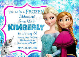 elsa birthday invitations design personalized elsa birthday invitations as well froz on free