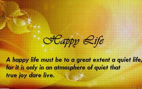 Beautiful Happy Life Quotes Best of Happy Life Quotes View World Round