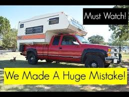 Watch This Before Buying A Truck Camper! - YouTube
