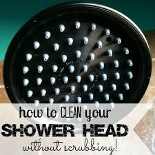 how to clean shower head it isn t as bad as you might think