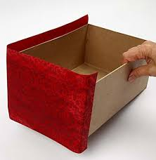 Decorating Cardboard Boxes Cardboard Box Decorating Ideas How to decorate a cardboard box 76