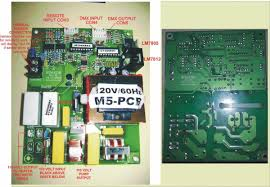 repairs to fog machine electronics forums antari m5 main pcb front and back back mirrored fw jpg