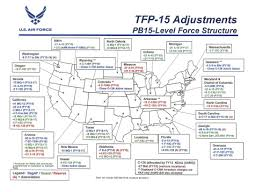 Air Force Structure Chart Air Force To Eliminate Nearly 500 Aircraft In 25 States