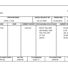 create paycheck stub template free free paycheck stub template archives word templates