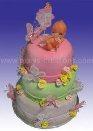 Baby Shower Butterfly Cake Marys Creations