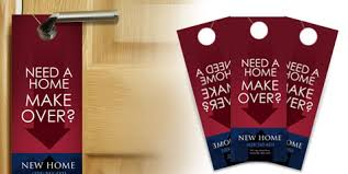 door hangers design. Door Hangers Have A Few Advantages Over Other Traditional Forms Of Marketing, Like Flyers Or Postcards: Design