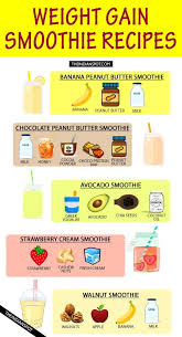 A Diet Chart For Gaining Weight Pin On Meal Prep