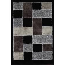 5 x 7 medium black area rug gy with design rc willey furniture