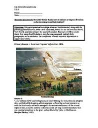 manifest destiny map teaching resources teachers pay teachers  manifest destiny primary source packet and document based question essay