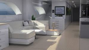 It's interior supports two passengers and has a small living space inside the hull. Xenos Hyperyacht By Lazzarini Design World S Fastest Yacht In Its Class Autoevolution