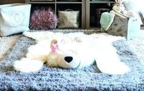 faux polar bear rug faux bear rug bear rug for nursery faux bear rug polar woodland