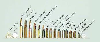 24 Reasonable Gun Ammunition Chart