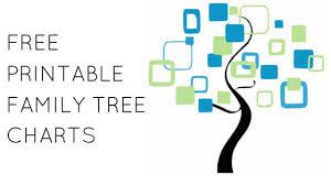 Free Family Tree Chart Free Family Tree Forms 4 Free Family Tree Templates For Genealogy
