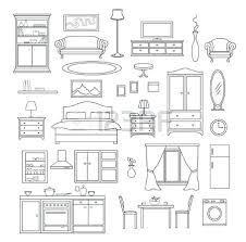 furniture clipart black and white. Simple Furniture Living Room Furniture Clipart Black And White 2 And Furniture Clipart Black White C