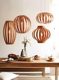 bent wood light fixtures