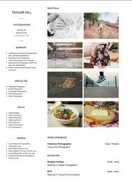 Photography Cv Examples And Template