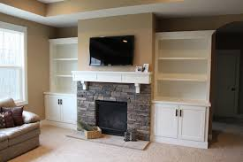 Living Room Bookcases Built In Built In Bookcases With Cabinets Builtin Bookshelves Built In