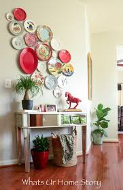 Wall Decorating The 25 Best Plate Wall Decor Ideas On Pinterest Plate Wall