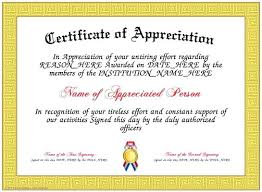 Certificate Of Recognition Wording Examples Rafaelfran Co