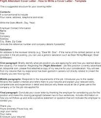 Flight Attendant Cover Letter With No Experience Flight Attendant ...