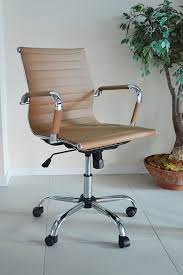 eames ribbed chair tan office. Eames Ribbed Chair Tan Office B