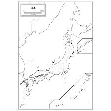 日本地図の白地図を無料ダウンロード 白地図専門店