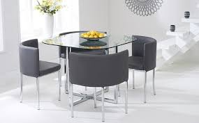 dining room table and chairs uk alluring grey dining room decor of round glass dining
