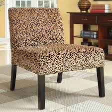 Leopard Chairs Living Room Shop Coaster Fine Furniture Gold Leopard Accent Chair At Lowescom