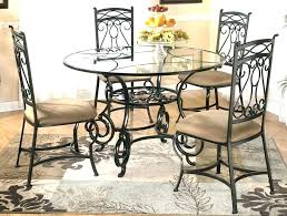 round dining table metal base round glass top dining table glass top dining tables with metal