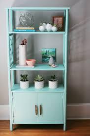 Modern Retro Style Mint Green Bookcase — A Simpler Design a hub