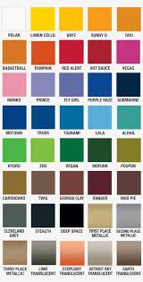 Plutonium Paint Color Chart Rustoleum Spray Paint Color