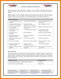 Cv Engineering 100 Good Electrical Engineering Cv Format Invoice
