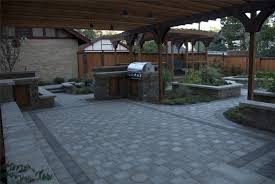 Backyard Paver Designs Model