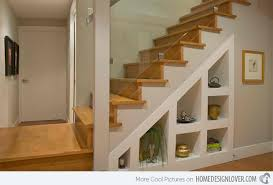 Well Suited Ideas Under Stairs Shelves 15 For Space Saving Staircase Home  Design Lover
