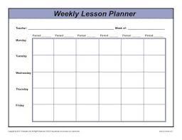 Free Printable Teacher Lesson Plan Template Free Printable Teacher
