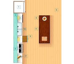 one wall kitchen layout with a budget friendly refresh