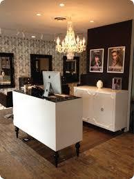 modern salon reception desk designs