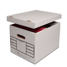 File holder box Simple Houseware Premium File Storage Box Paper Mart Premium File Storage Box Shop With Paper Mart Now