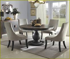 49 round pedestal kitchen table sets 36 round single pedestal regarding idea 9