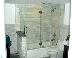 decoration enclosed bathtub shower enclosures decor ideas small bathtubs with corner bath bathroom tub combo