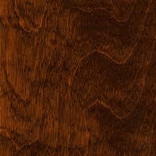 Fine Dark Brown Wood Floor Birch 38 In Thick X 5 Wide Varying Beautiful Design