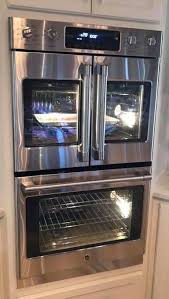 double oven stove electric