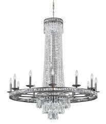 16 light english bronze crystal chandelier dd in clear hand cut crystal 5269 eb cl mwp elite fixtures