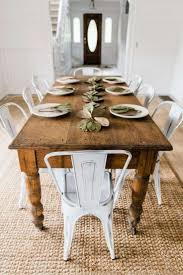 round country dining table awesome new farmhouse dining chairs