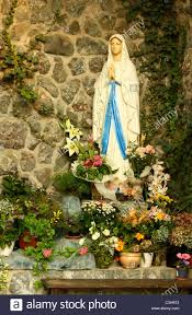 Mini Grotto Design For House Virgin Mary Grotto Stock Photos Virgin Mary Grotto Stock