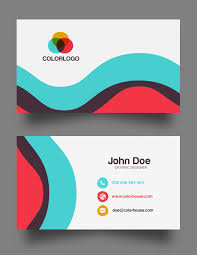 Free Sample Business Cards Templates Flat Business Card Template Free Download Business Cards Design 2