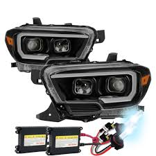 HID Xenon + 2016-17 Toyota Tacoma Sequential LED Signal / DRL ...