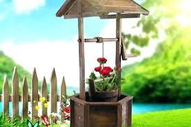 wishing well for yard wishing well yard decor outdoor garden patio wishing well rustic fir wooden wishing well for yard wishing well garden