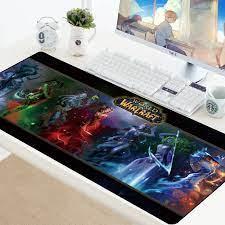 70X30cm oyun Mouse Pad World of Warcraft Mousepad büyük XL klavye fare Mat  oyun dizüstü kauçuk bilgisayar PC hız Mat|Mouse Pads