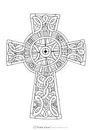 Cross Coloring Page Free Printable Cross Coloring Pages Coloring